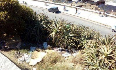 Podrán secuestrar hasta un año el auto de quien tire basura en la vía pública