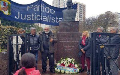 El Partido Justicialista de General Pueyrredón recordó a Perón a 44 años de su muerte