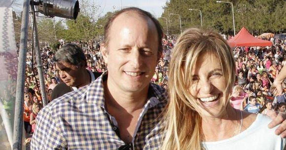 Insaurralde quiere ser gobernador, con Marisa Fassi como vice