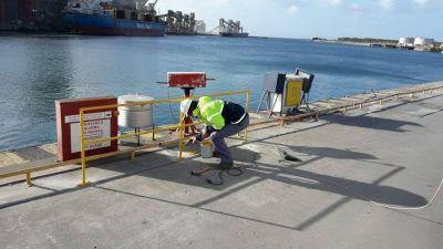 Puerto Quequén actualiza su infraestructura para mejorar su seguridad