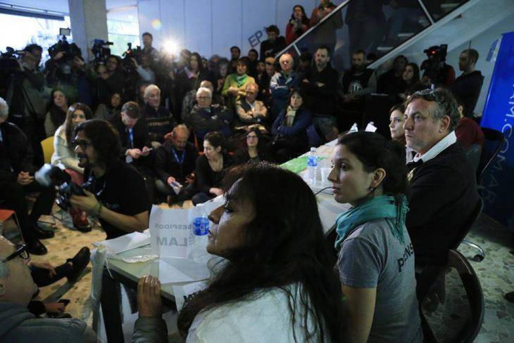Trabajadores de Télam convocan a marchar el jueves contra los despidos y por la libertad de prensa