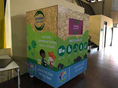 En un mes, 35 mil alumnos de Escobar recolectaron más de 500 bolsones de residuos reciclables