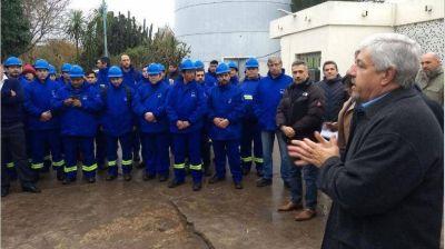 AySA comienza a operar los servicios de agua potable y cloacas en Pilar