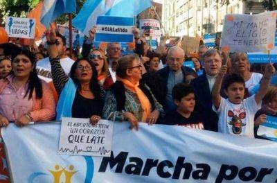 Organizan marchas en todo el país contra la legalización del aborto