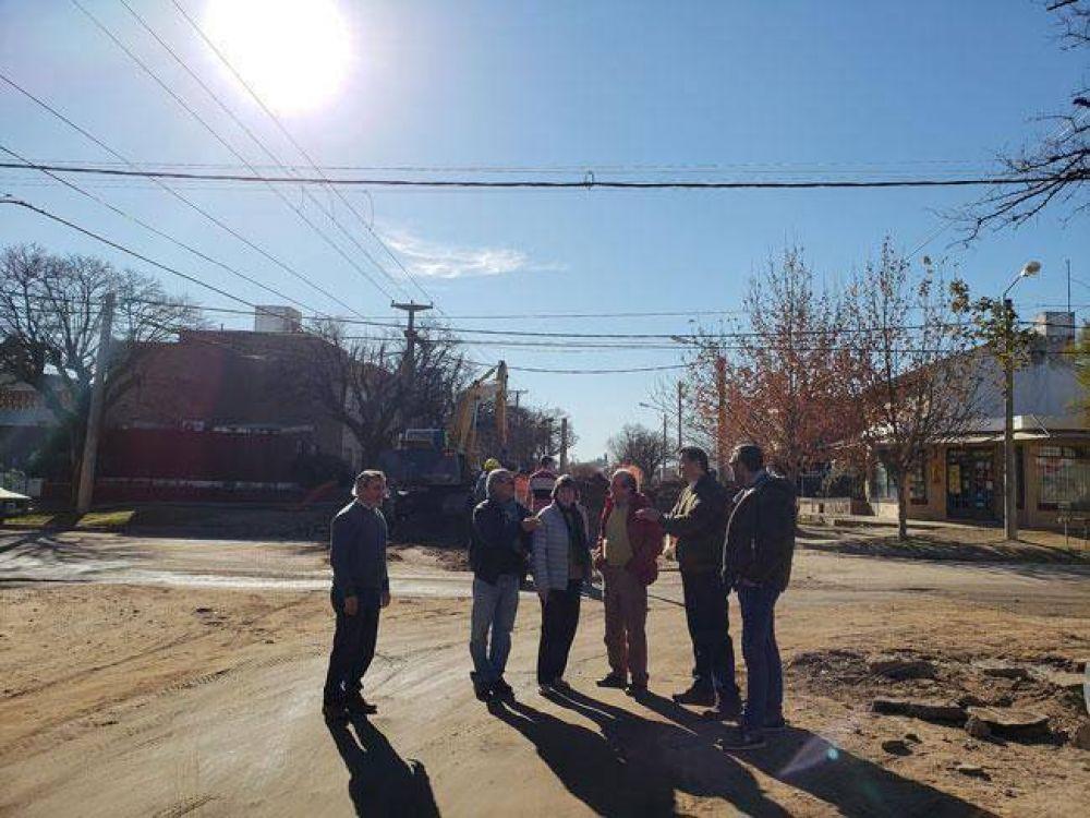 Cloacas del Butaló: otros dos días de obra paralizada