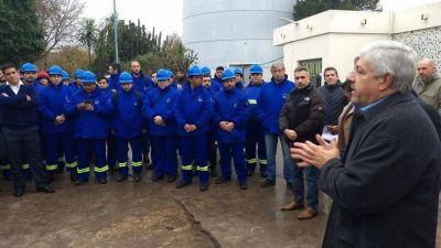 AySA se hizo cargo del servicio de agua potable y cloacas de Pilar