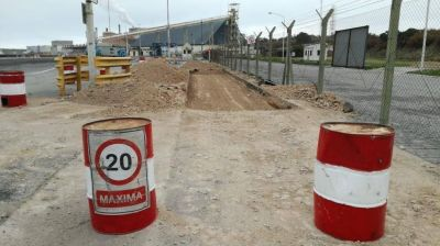 Puerto Quequén comenzó la construcción de una nueva concesión