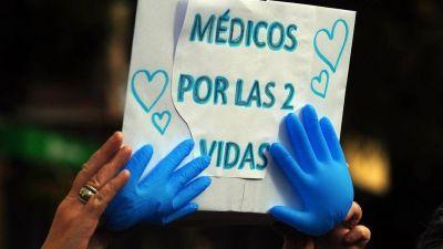 #NoCuentenConmigo: los médicos se movilizan en todo el país contra la ley de aborto