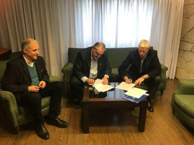 El Ceamse y la Universidad de Mar del Plata firmaron un convenio de colaboración