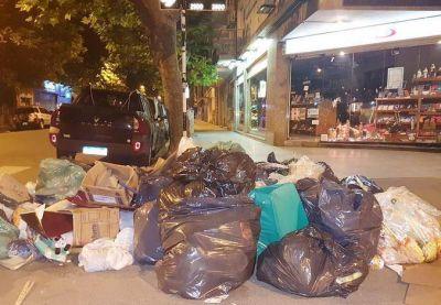 Mar del Plata sin recolección de residuos que se extendería el fin de semana largo