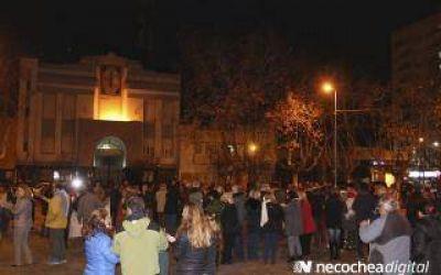 Indignación en Necochea por la muerte de un empresario asaltado: Unas 2000 personas salieron a protestar