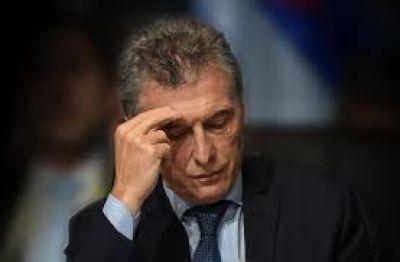 En medio de la crisis cambiaria, la imagen negativa de Macri marca un récord