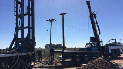 El Municipio avanza con las obras de construcción de nuevos pozos de agua