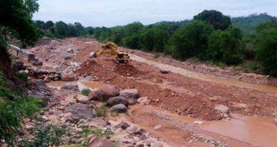 Gran despliegue de obras hídricas en El Bananal