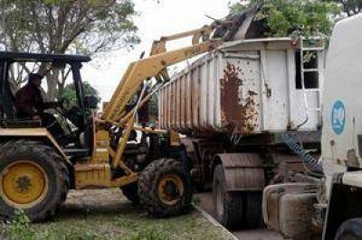 Trabajan en la recolección de residuos no convencionales