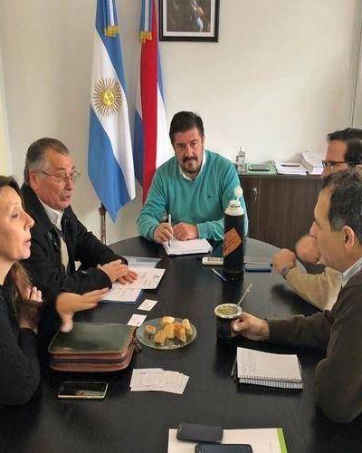 La provincia acompaña la obra de la planta de tratamiento de residuos en Federación