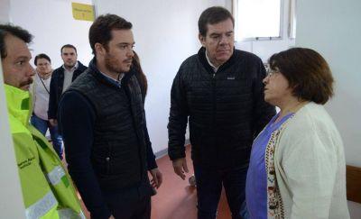 Scarsi y Montenegro recorrieron las nuevas instalaciones del Higa y el Materno Infantil