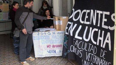 Los docentes de la UNLP decidieron no comenzar el segundo cuatrimestre