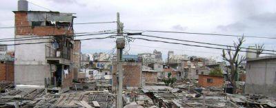 Pobreza: se levantan siete nuevos asentamientos por mes en todo el país