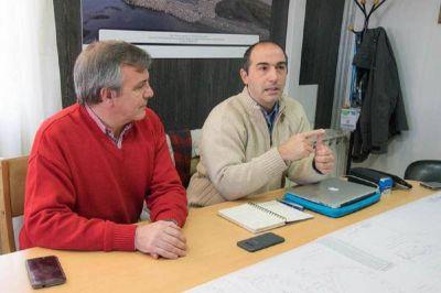 Gobierno lanza la licitación de la obra de red de cloacas en la zona hotelera camino al Glaciar Martial