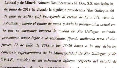 La Justicia citó a SPSE y al Municipio por los desbordes cloacales en Río Gallegos
