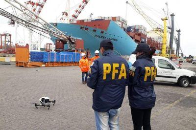 Operativos en el puerto de la Ciudad por la