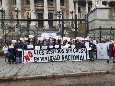 Diputados piden la reincorporación de despedidos en Vialidad Nacional