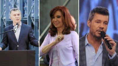Operativo 2019: ya se reservaron los sitios web de Cristina, Macri y Tinelli