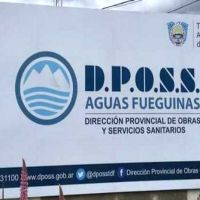 Ushuaia: La DPOSS advierte que, pese a la coloración, el agua es perfectamente apta para el consumo humano