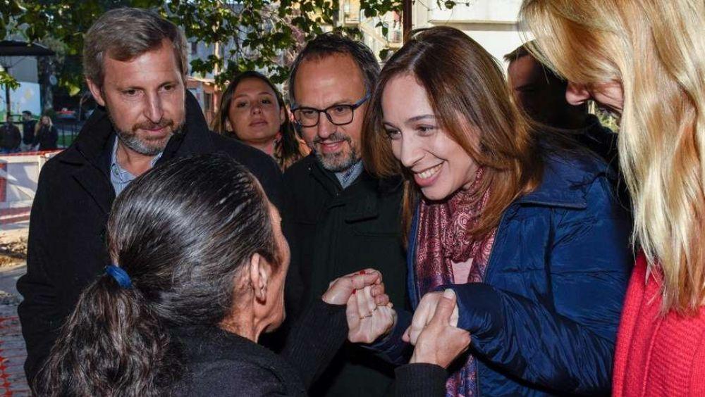 Los gestos de diferenciación de María Eugenia Vidal