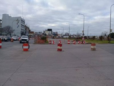 Obra Arroyo del Barco: rediseñan el tránsito en la zona portuaria