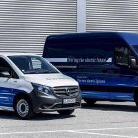 Utilitarios eléctricos: Mercedes-Benz presentará las eSprinter y eVito en 2019