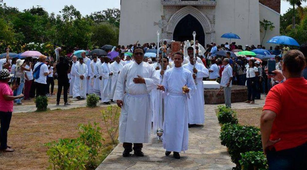 Preparan fiesta por los 525 años de la primera Misa celebrada en América