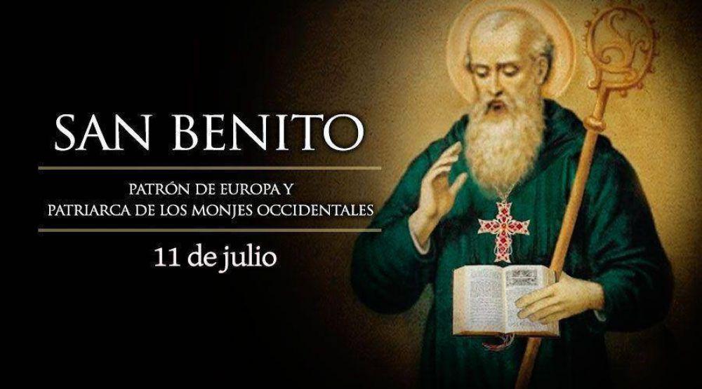 Hoy celebramos a San Benito, patrono de Europa y Patriarca de los monjes occidentales