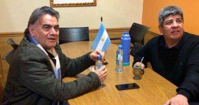 """Tras varios años de desencuentros, """"Barba"""" Gutierrez y Pablo Moyano sellan unidad"""