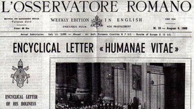 """""""Humanae vitae"""" y el último sondeo secreto de Pablo VI"""
