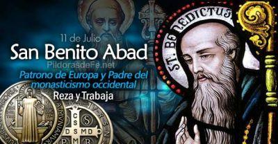 San Benito, Patrono de Europa. El tuit del Papa