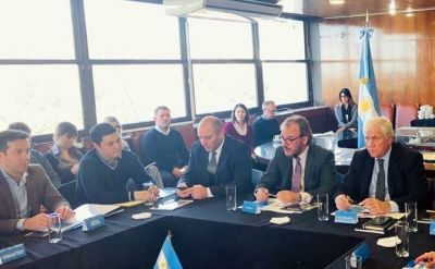 Rojas en la 10° sesión del Consejo Federal Portuario