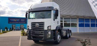 Volkswagen presentó en Argentina el nuevo Constellation 25.360 6×2