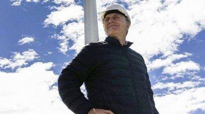 El Parque Eólico de Chubut compromete a Macri
