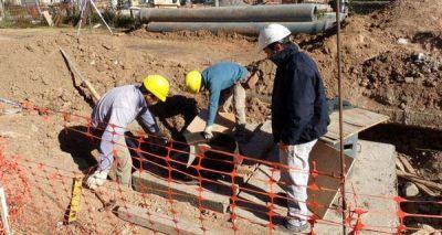 Se ejecutó el 50% de la nueva infraestructura cloacal en Esperanza
