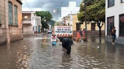 Las obras pluviales que urgen a Salta llegaran en agosto