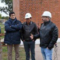 El Presidente de SAMEEP y el nuevo vocal obrero recorrieron planta potabilizadora