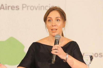 Vidal prevé un fuerte impacto del ajuste en la provincia de Buenos Aires