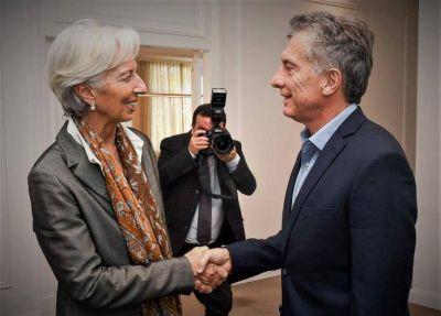 Macri mimetizado con Lagarde, el mesianismo de mercado y la norma que conspira contra el ajuste