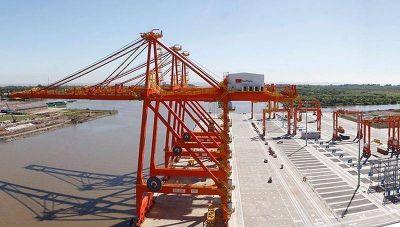 Puerto La Plata: dragarán los canales de acceso y mejorarán la defensa costera
