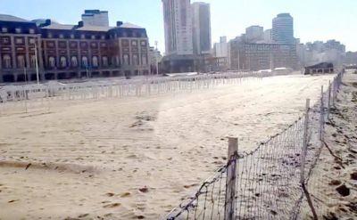 El Intendente le ordena a Aldrey Iglesias liberar de los cercos las playas del centro