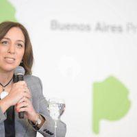 María Eugenia Vidal refuerza la ayuda social y posterga obra pública para unos meses que espera