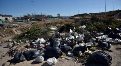 Escombros y poda, el 82% de los residuos en los basurales a cielo abierto