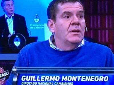 """Montenegro: """"Es muy difícil de creer que no aporte alguien que encabezó una campaña"""""""